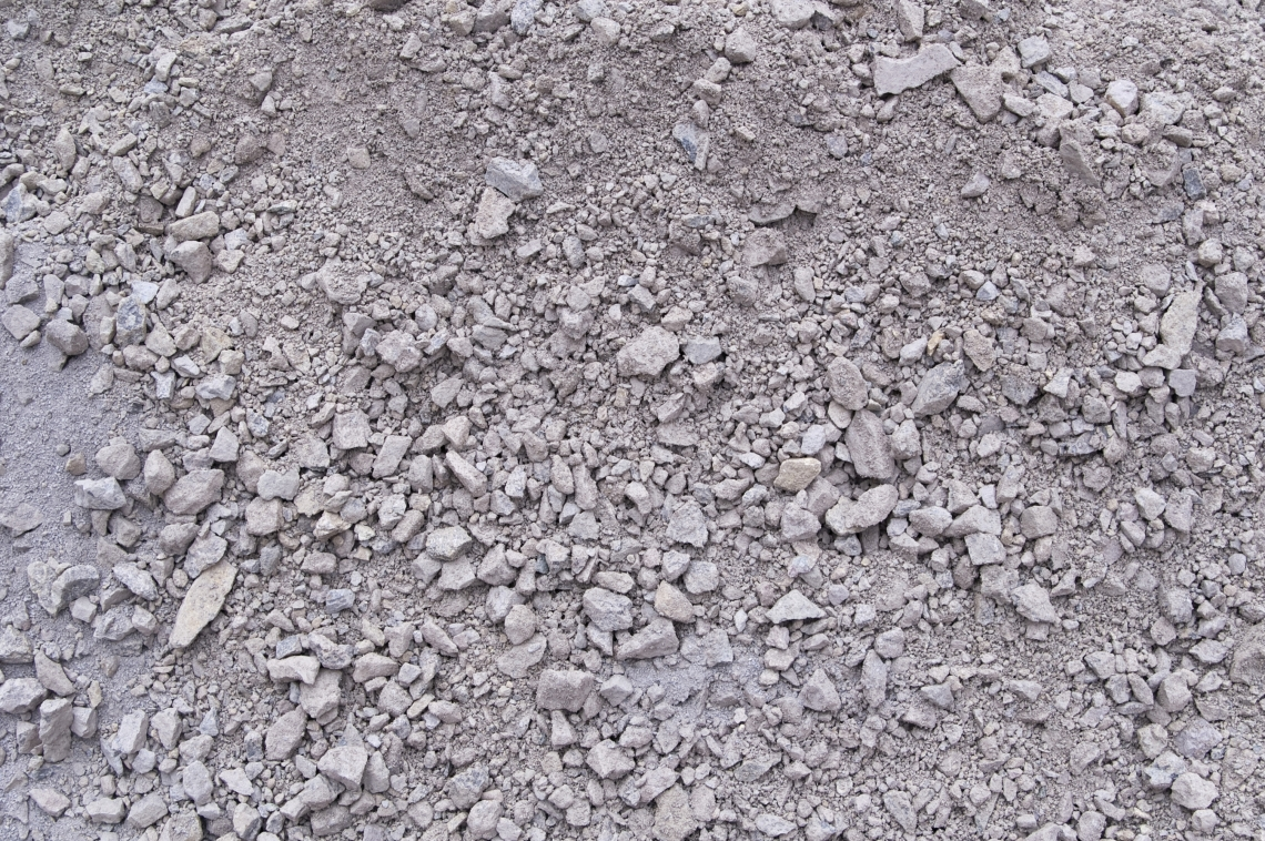 Ground Gravel