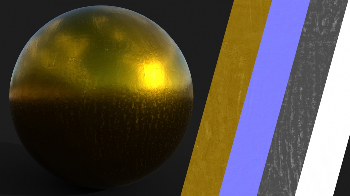 PBR-Metal-Yellow-01-Cover - Seamless