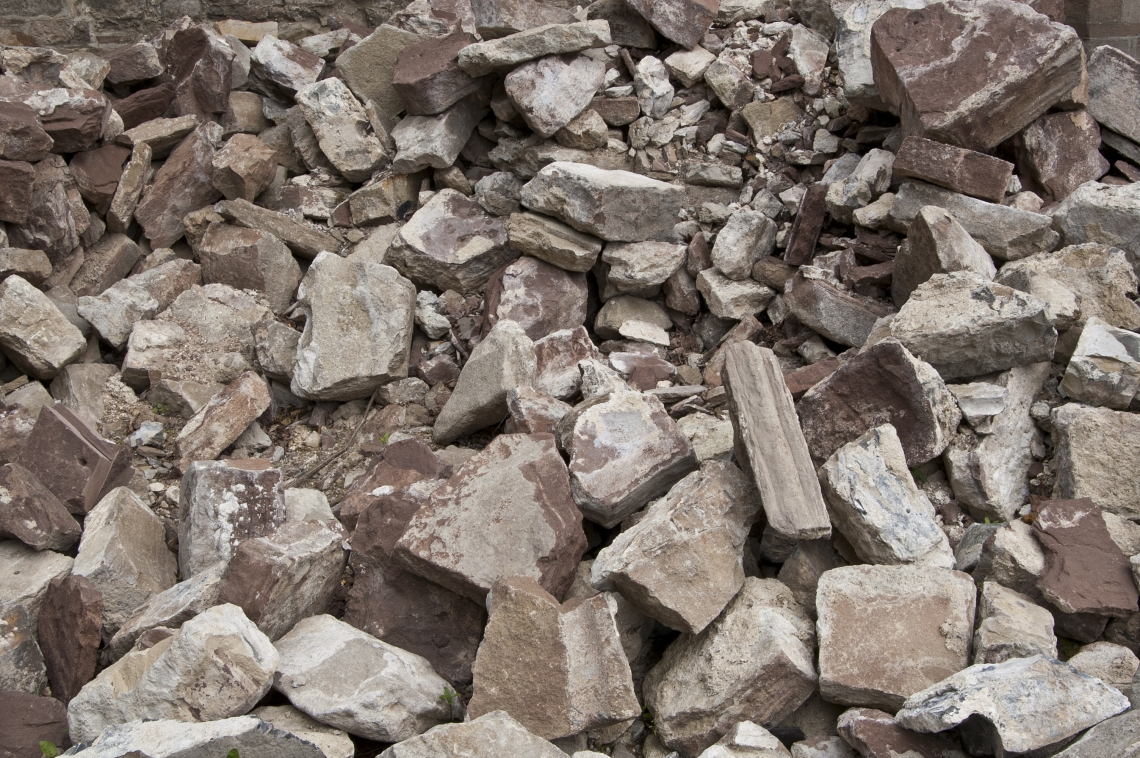 Ground Rubble