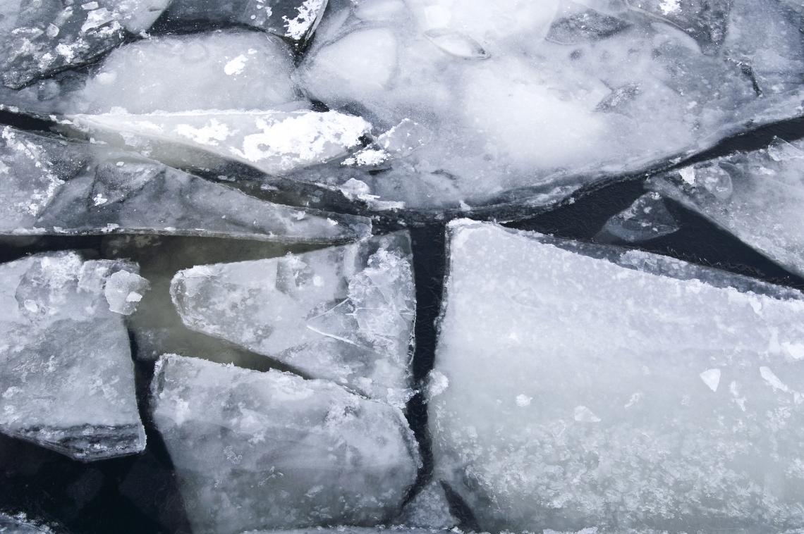 Ice Cracked
