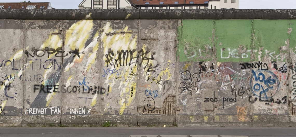 Graffiti Berlinwall Front