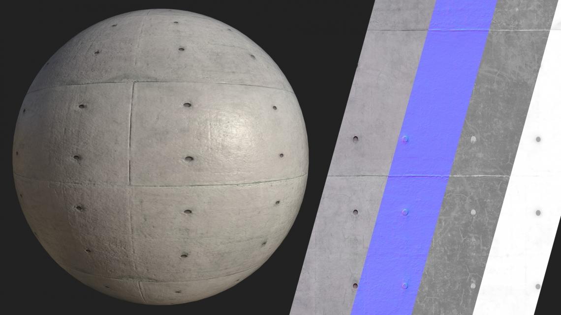 PBR-Plain-Concrete-05-Cover - Seamless