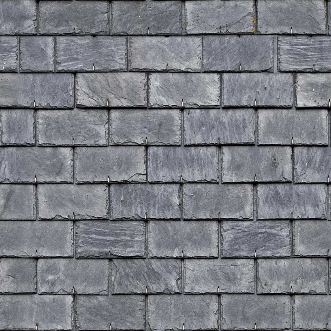 Seamless Roof Tiles Good Textures