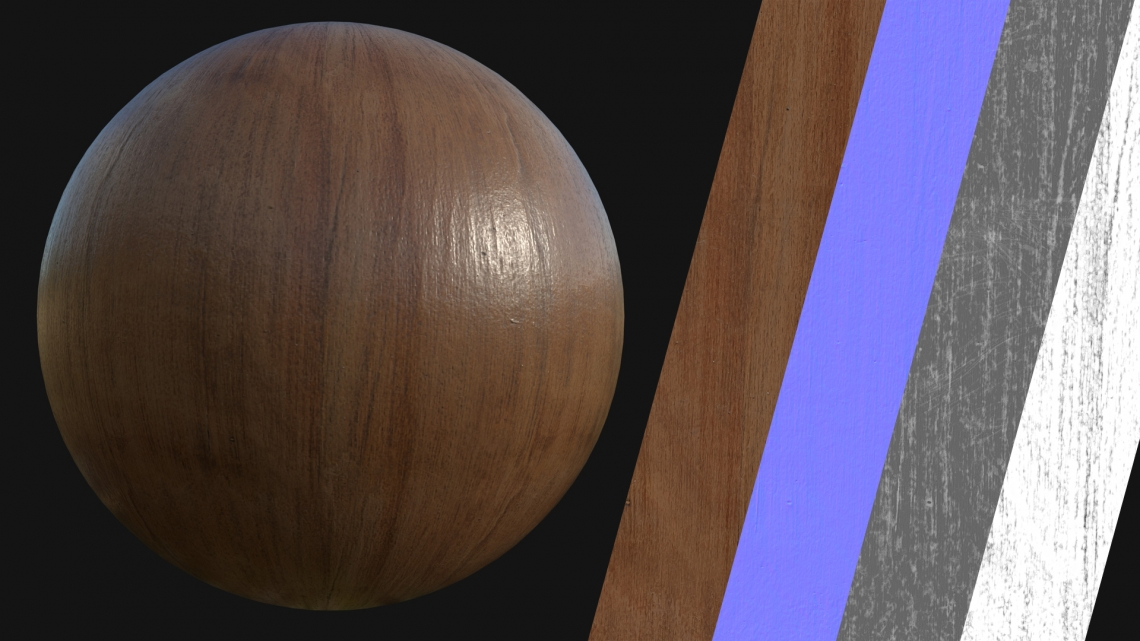 PBR-Wood-Plain-03-Cover - Seamless