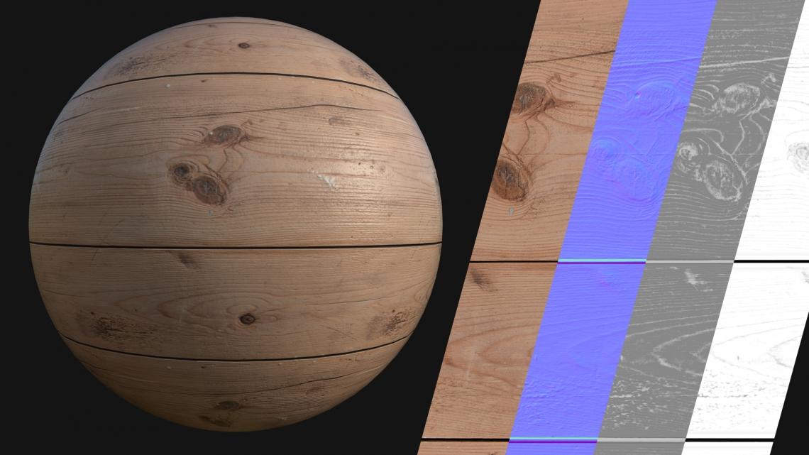 PBR-Wood-Plain-02-Cover - Seamless