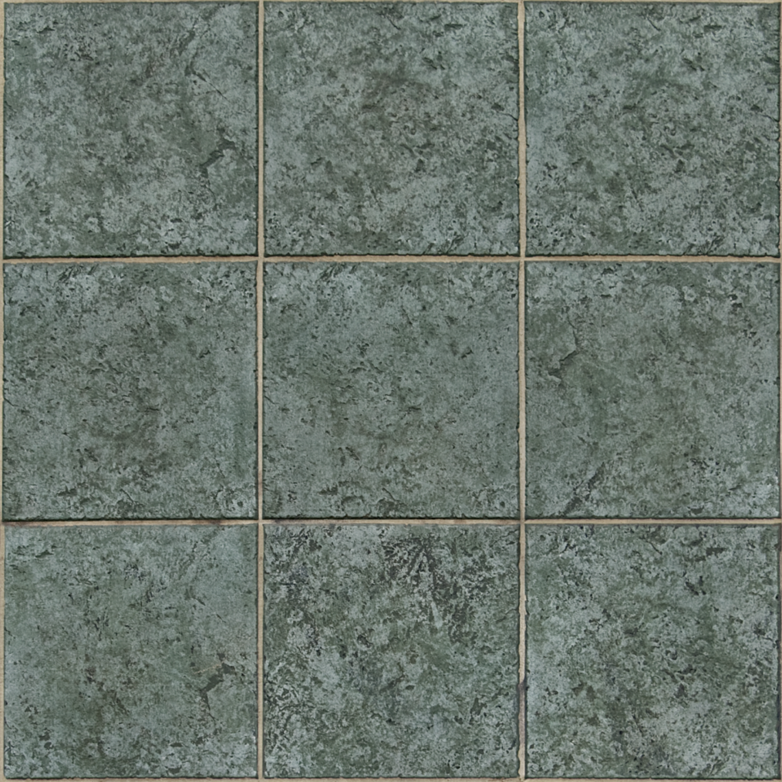 Green-Tiles-01-Albedo - Seamless