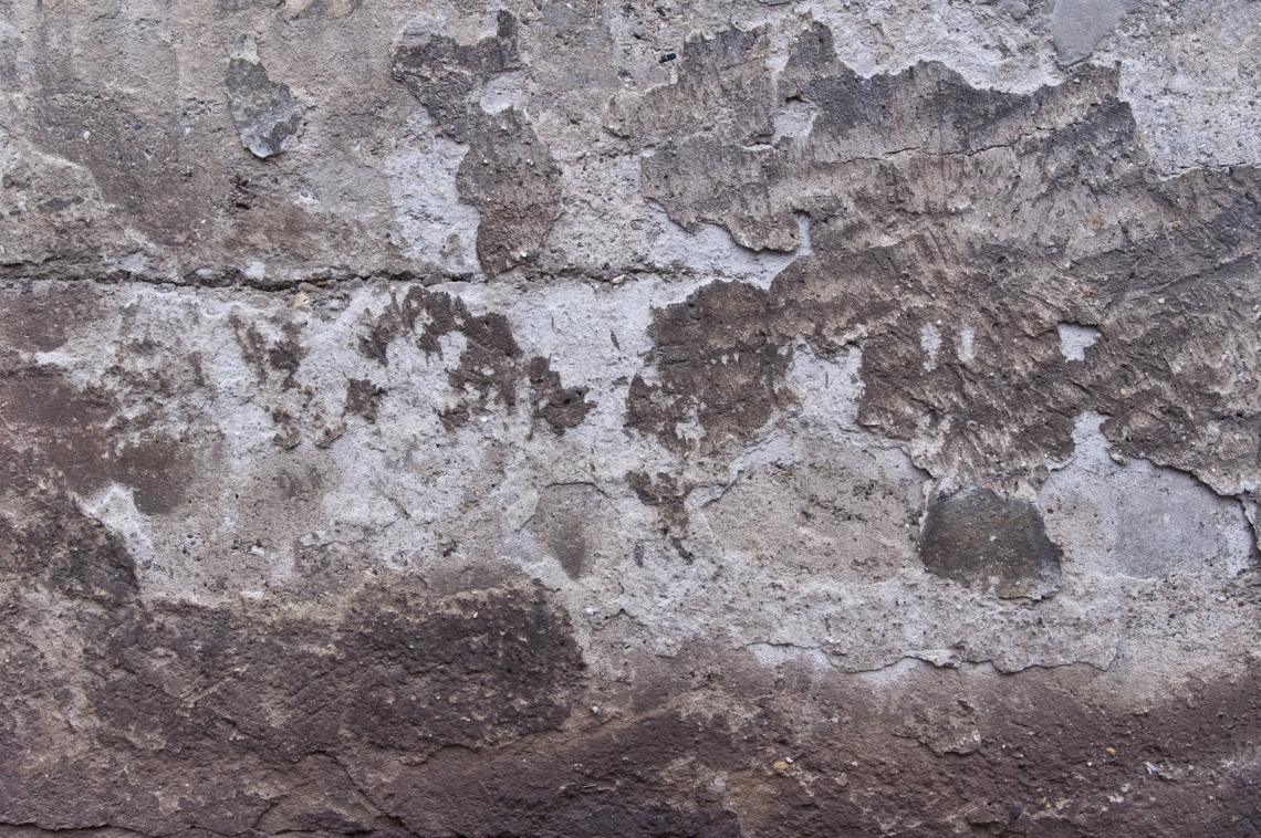 Неподготовленная поверхность бетона