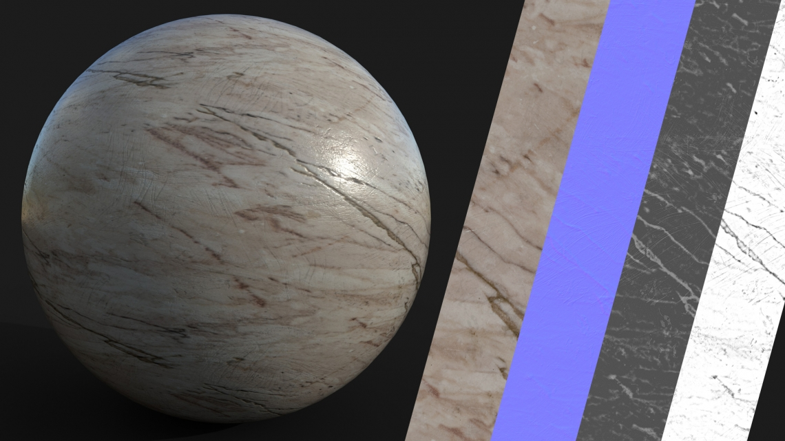 PBR-Red-Marble-01-Cover - Seamless