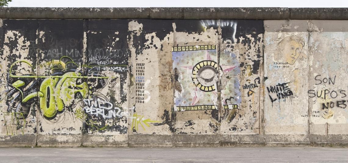 Graffiti Berlinwall Front
